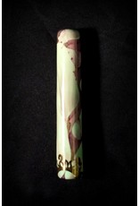 Ceramic Chillum – Green and Purple