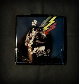Cigarette Case 3x3 - Bob Marley Guitar