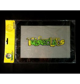 """Twisted Labs Silicone Mat 12"""" - Black Logo"""