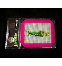 Twisted Labs Silicone Mat 4″ – Pink Logo