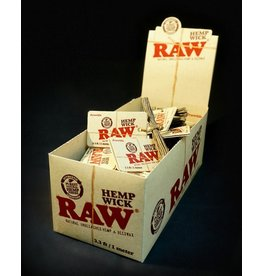 Raw Raw Hempwick - 3.3ft