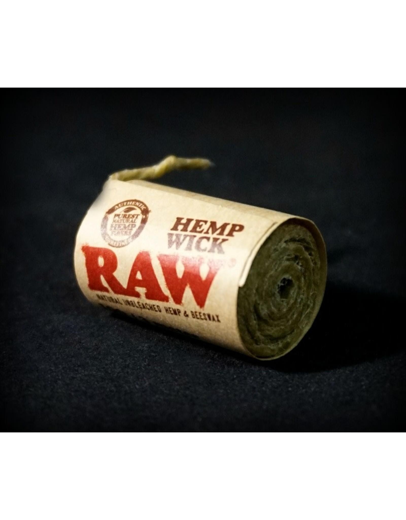 Raw Raw Hempwick - 20ft