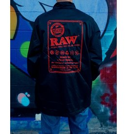 Raw Raw Black Coach Jacket