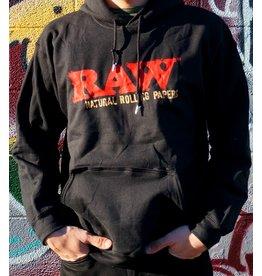 Raw Black Rollawear Pullover Hoodie