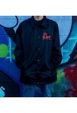 Raw Raw Black Coach Jacket