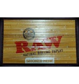 Raw Raw Bamboo Floor Mat