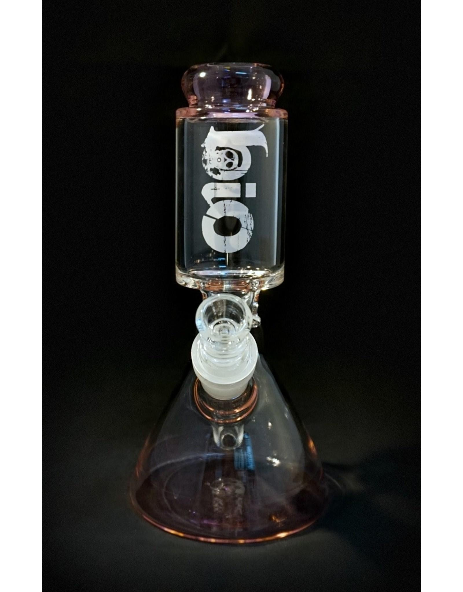 Bio Bio 8″ Beaker - Pink Trim