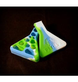 Twisted Labs Multi Cavity Silicone Container – White Blue Green