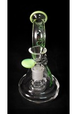 """Cheech & Chong's Up in Smoke Cheech & Chong's Up in Smoke 8"""" Beaker Waterpipe - Green"""