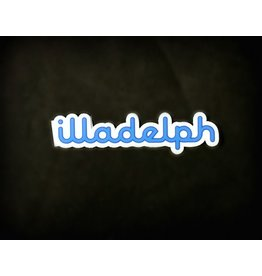 Illadelph Illadelph - Blue Sticker