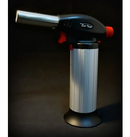 EverTech Cigar Lighter Torch - Silver 7""