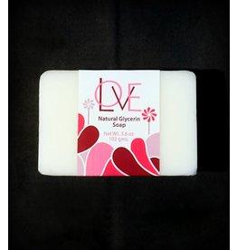 LOVE Natural Glycerin Soap