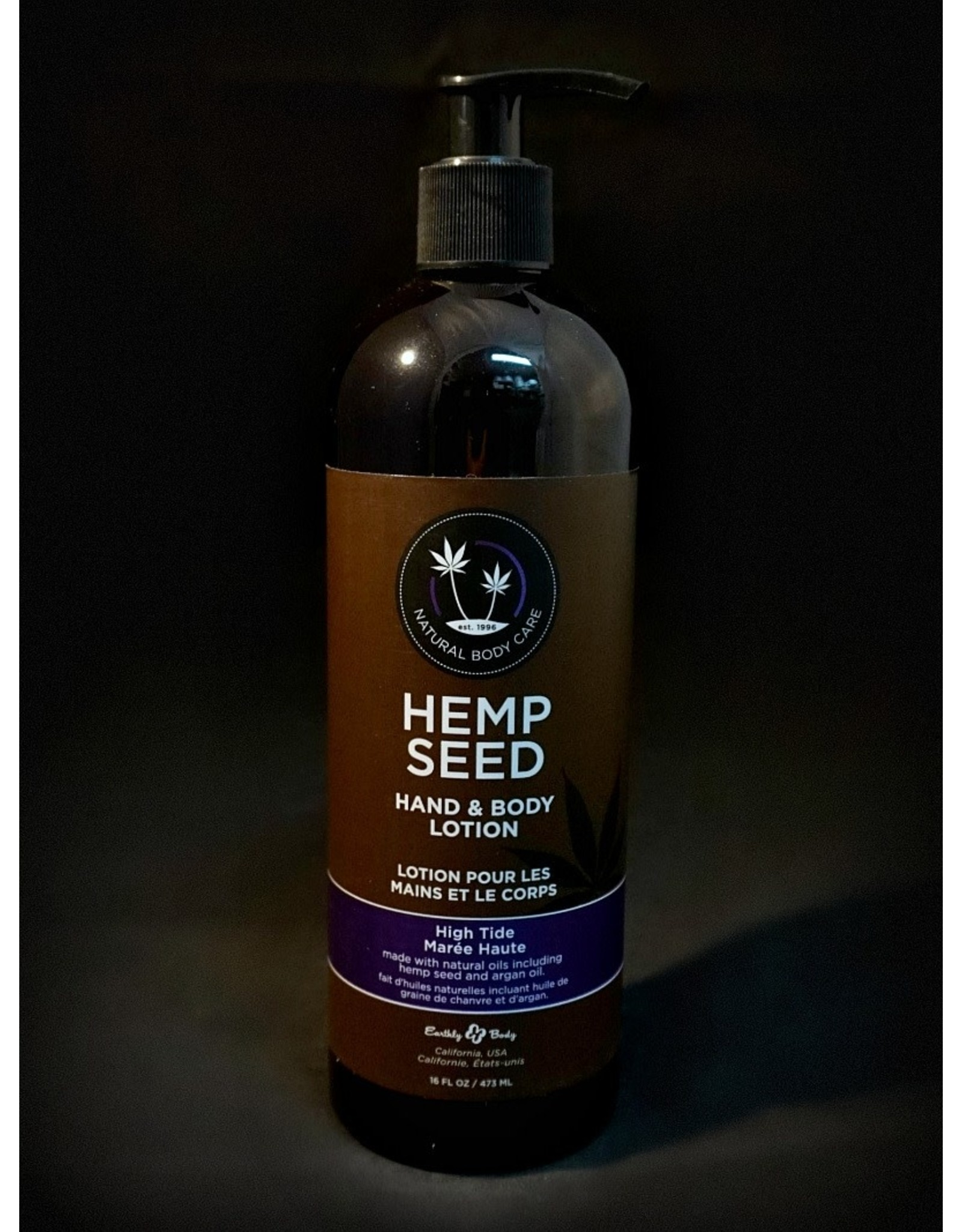 Earthly Hemp Seed Massage Lotion 16oz – Skinny Dip