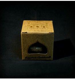 Auric Blends Temple Essence Decorative Carved Jar - Egyptian Goddess Solid Perfume