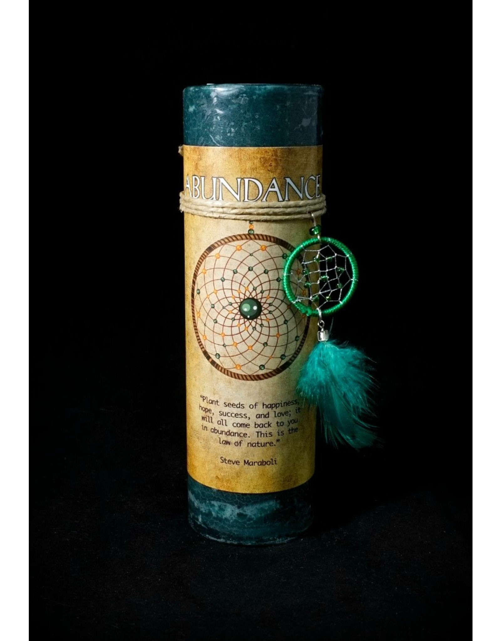 Dreamcatcher Candle - Abundance