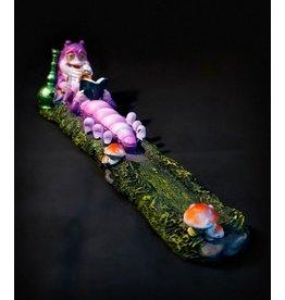 "Caterpillar Incense Burner 10"""