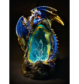 Backflow Incense Burner - Dragon w/ LED Light