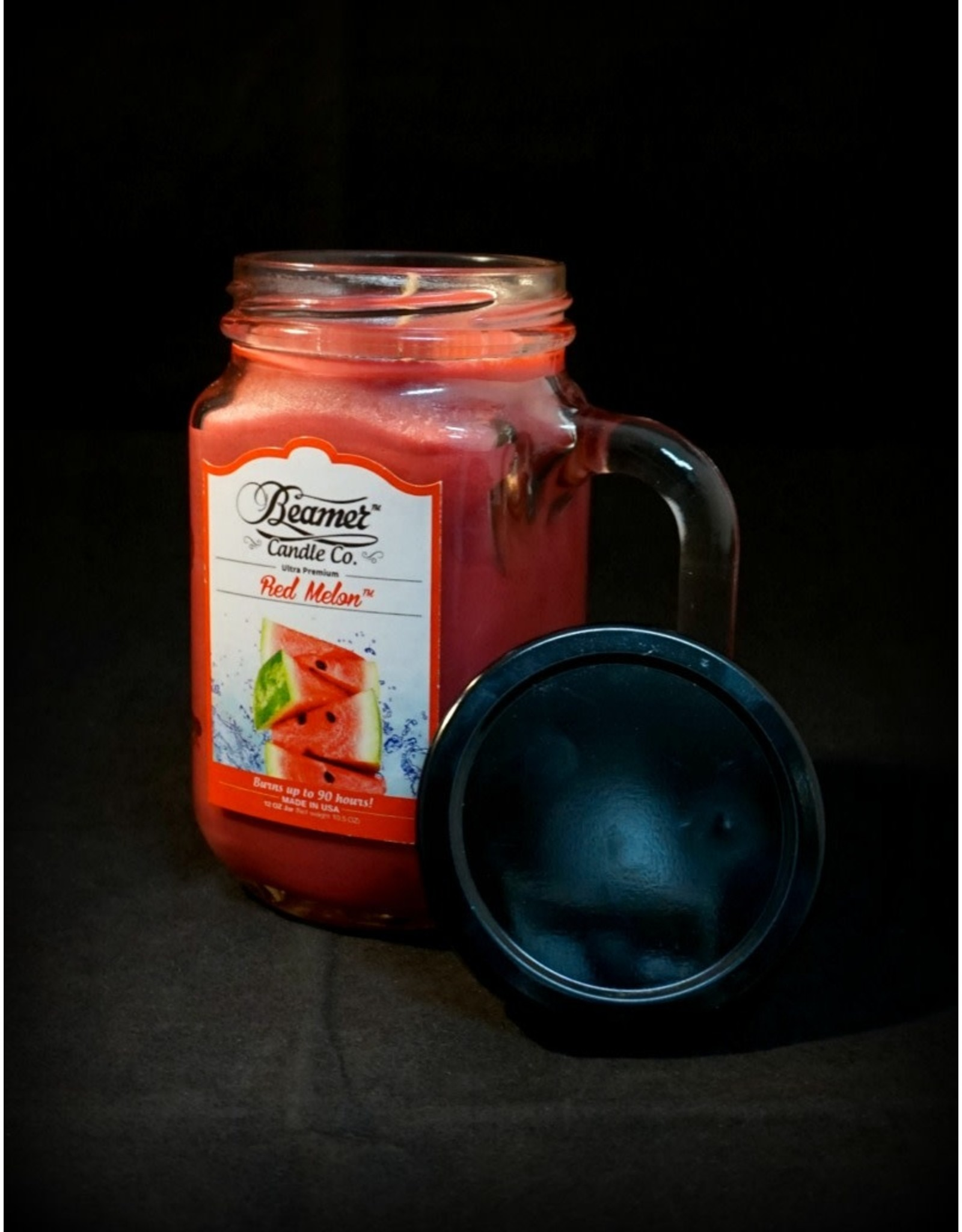 Beamer Candle - Red Melon