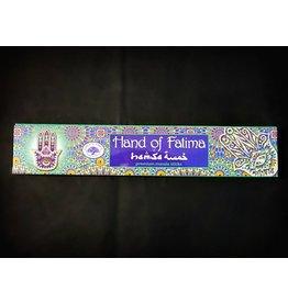 Green Tree Incense 15g - Hand of Fatima