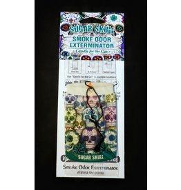 Smoke Odor Car Freshener – Sugar Skull