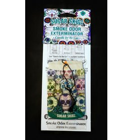 Smoke Odor Smoke Odor Car Freshener – Sugar Skull
