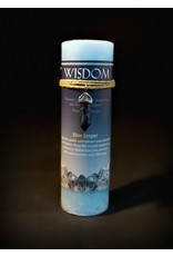 Crystal Energy Pendant Candle – Blue Jasper Wisdom