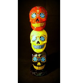 Sugar Skull Incense Tower