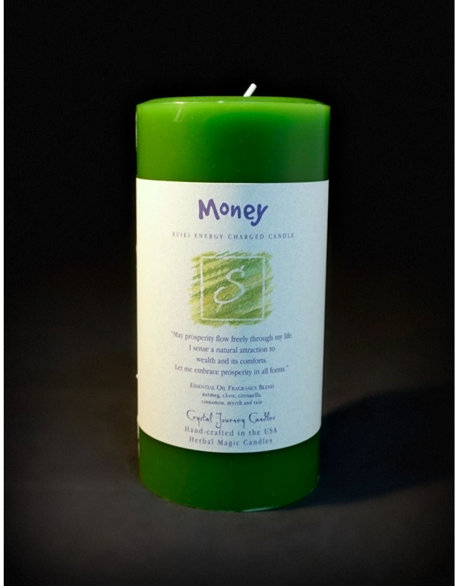 Crystal Journey 3x6 Pillar - Money