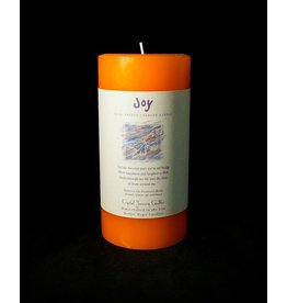 Crystal Journey 3x6 Pillar - Joy
