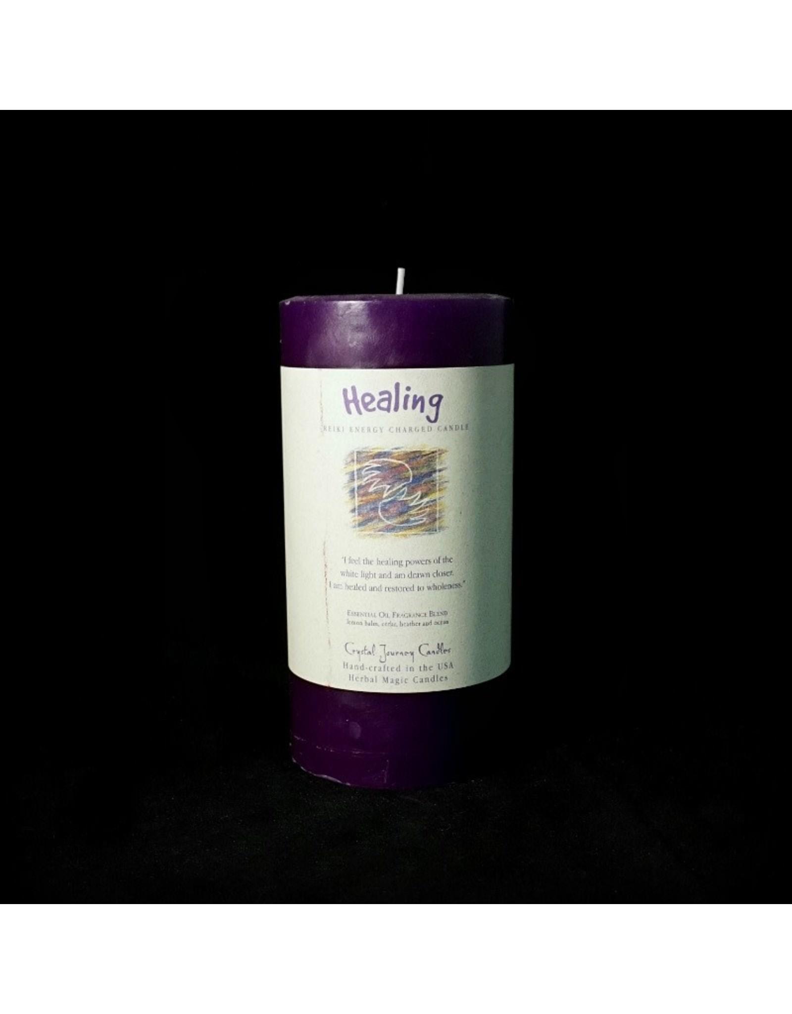 Crystal Journey 3x6 Pillar - Healing
