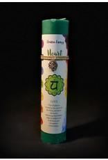 Chakra Pillars Candle - Heart