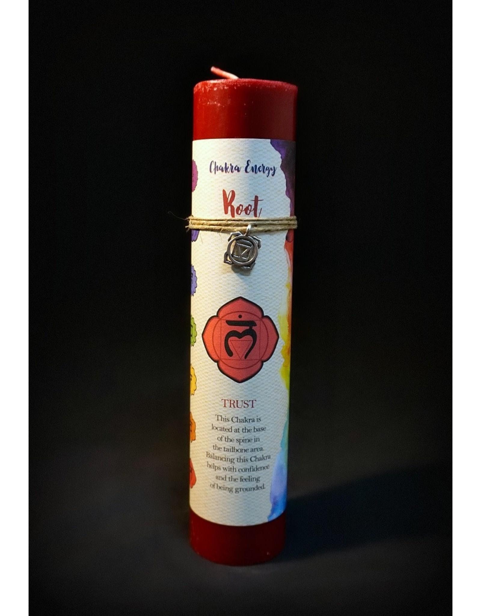 Chakra Pillars Candle - Root