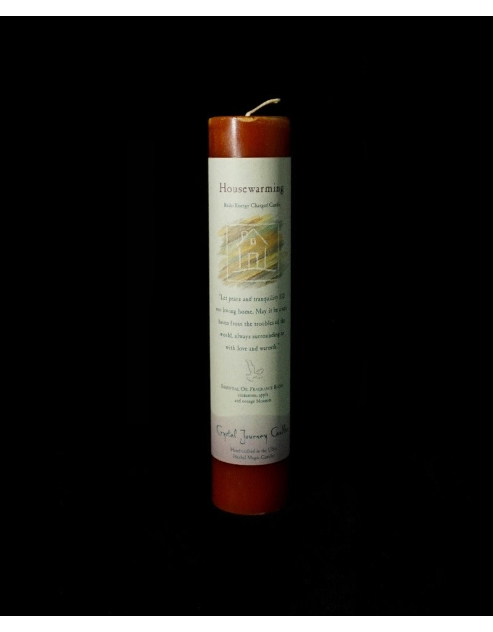 Herbal Magic Pillars - Housewarming