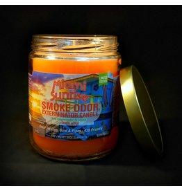 Smoke Odor Candle - Miami Sunrise