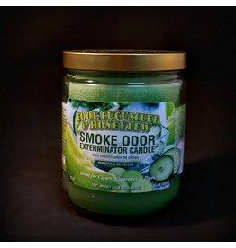 Smoke Odor Smoke Odor Candle - Cool Cucumber Honeydew