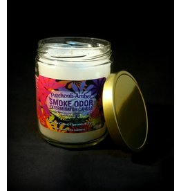 Smoke Odor Candle - Patchouli Amber