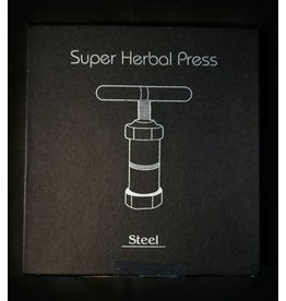 """Grindhouse Stainless Steel Pollen T-Press 6.25""""/Large"""