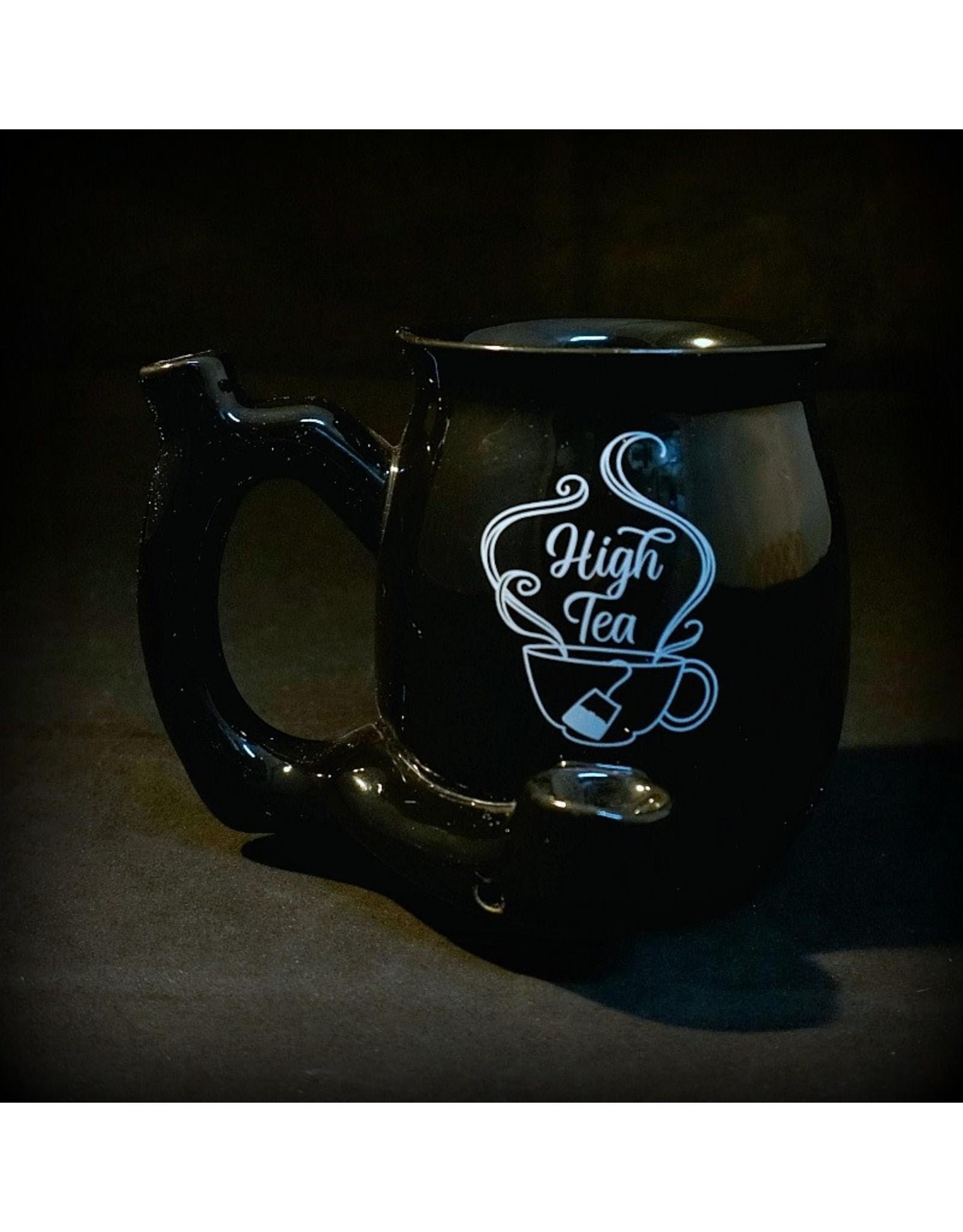 Ceramic Pipe Mug - High Tea Black