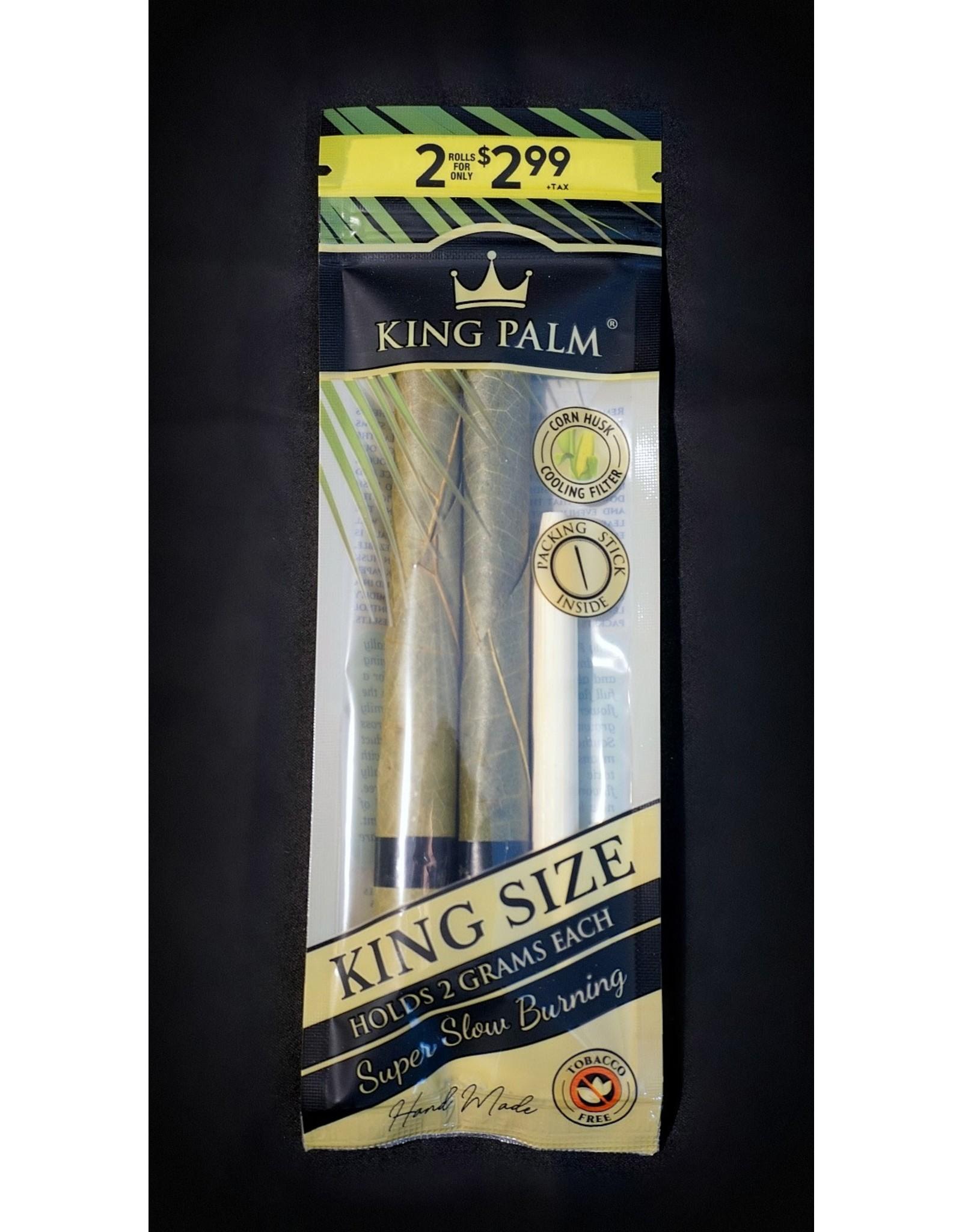 King Palm King Palm Pre-Roll Wraps - 2pk KS