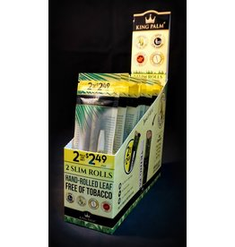 King Palm King Palm Pre-Roll Wraps - 2pk Slim