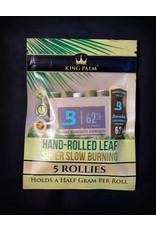 King Palm King Palm Pre-Roll Wraps Pouch w/ Boveda - 5pk Mini