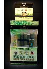 King Palm King Palm Pre-Roll Wraps Pouch w/ Boveda – 5pk KS