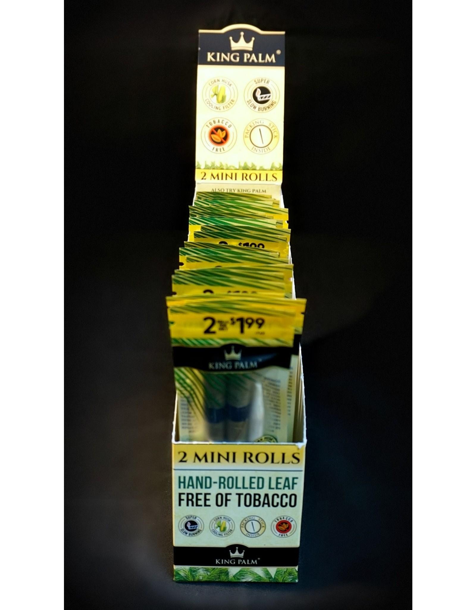 King Palm King Palm Pre-Roll Wraps – 2pk Mini