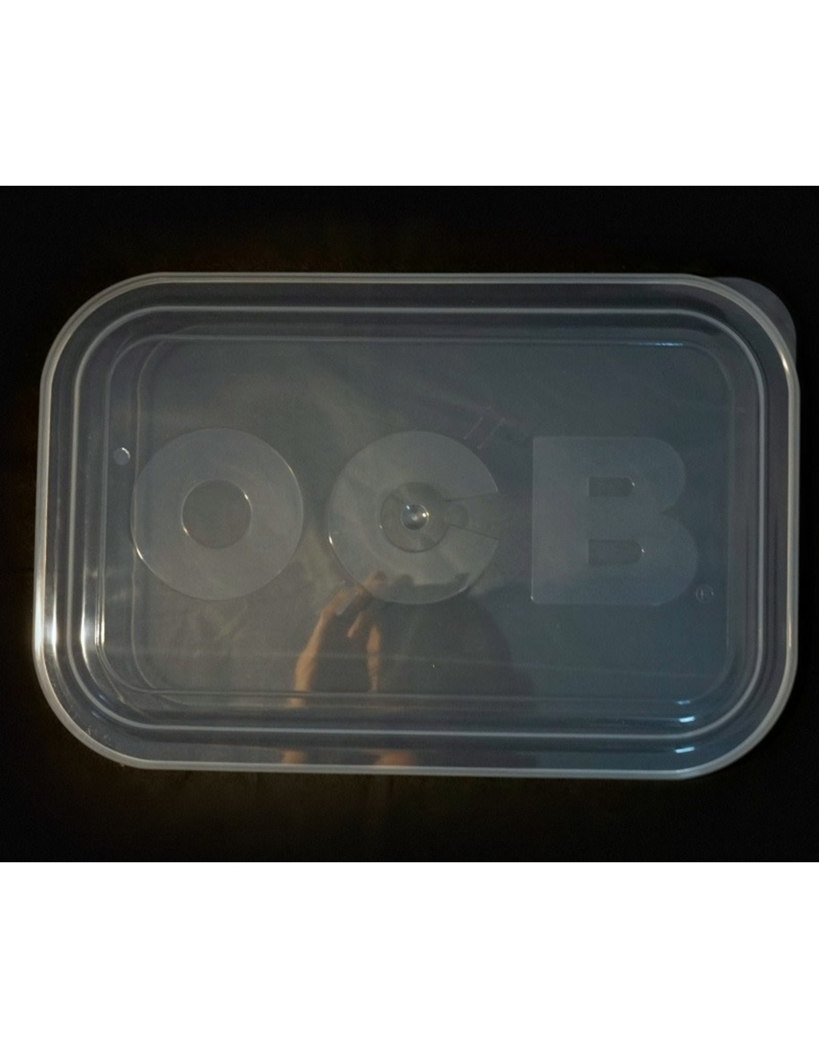 OCB OCB Clear Rolling Tray Lid - Medium