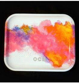 OCB Holi White Rolling Tray - Large