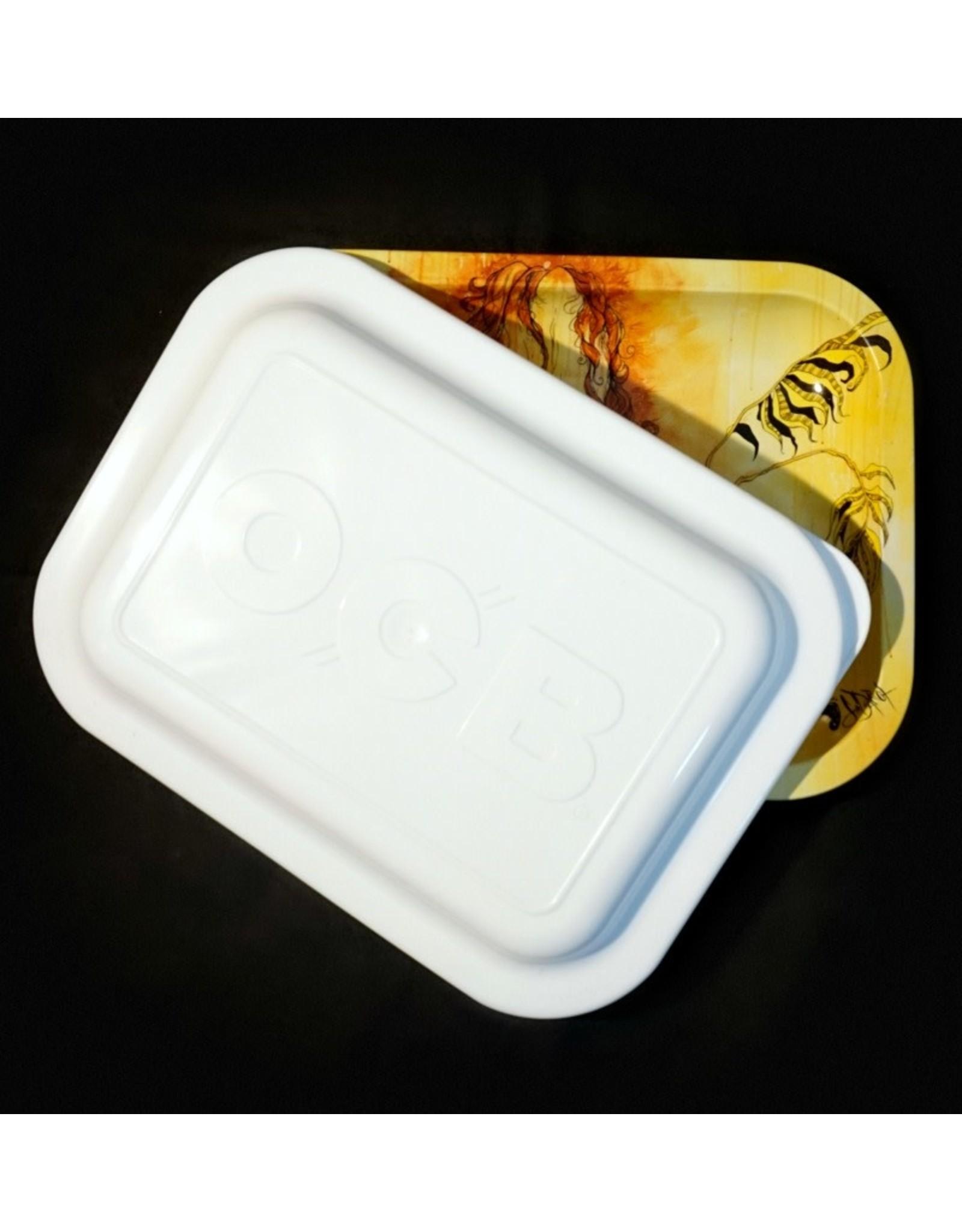 OCB OCB White Rolling Tray Lid - Small