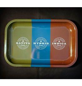 Sativa, Hybrid, Indica Rolling Tray - Medium