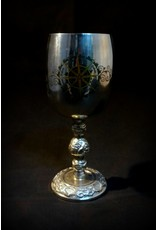 """6"""" Stainless Steel Pagan Calendar Chalice"""