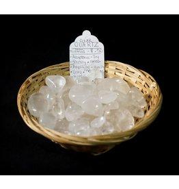 Clear Quartz Large Tumbled Stone