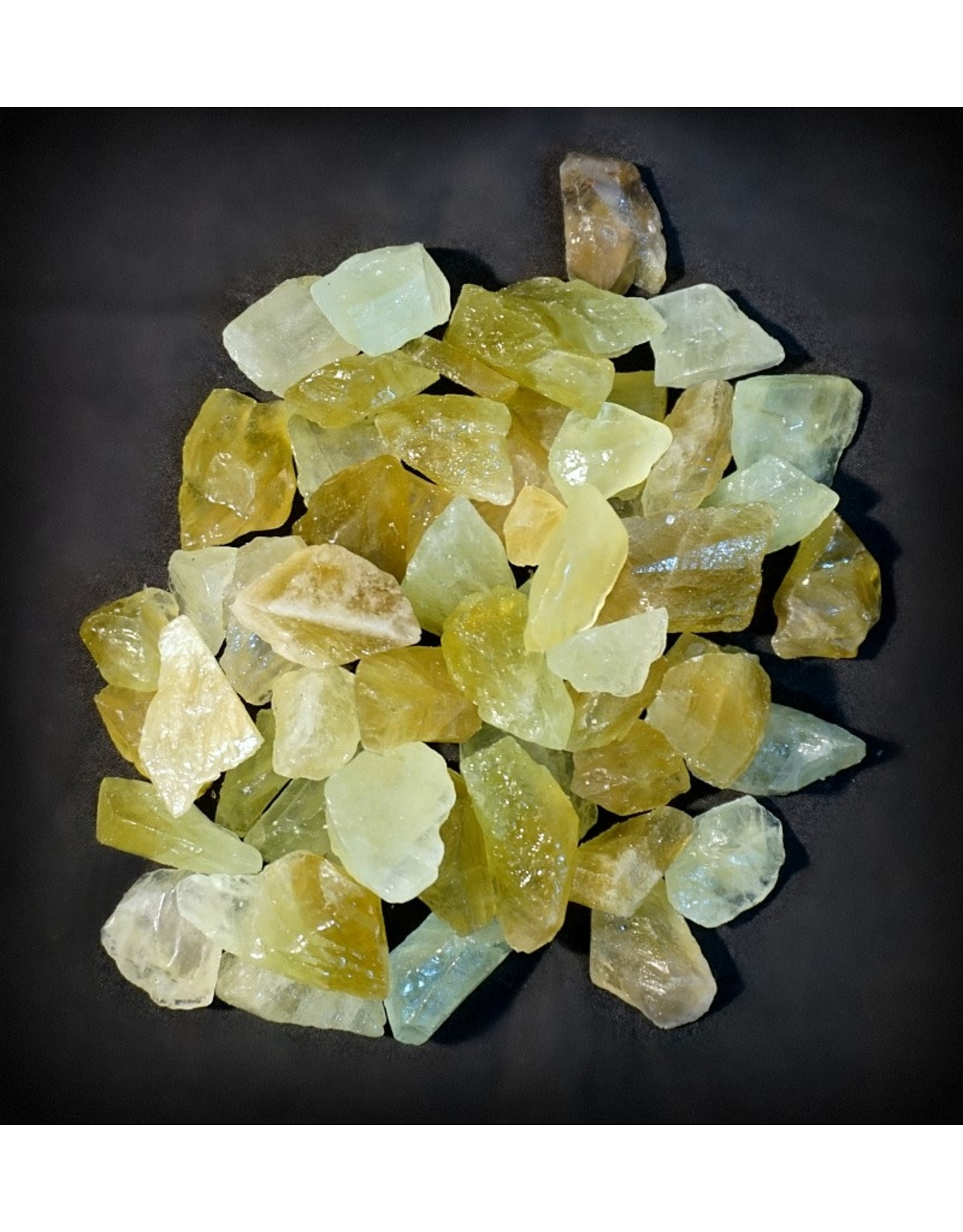 Green Calcite Rough Stone